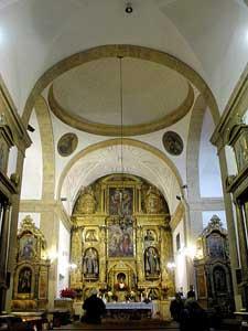 Iglesia de sta mar a del monte carmelo ver salamanca for Distancia salamanca a la alberca