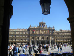 Plaza Mayor de día